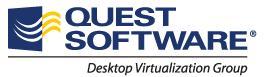 Quest Software - Desktop Virtualisation Group