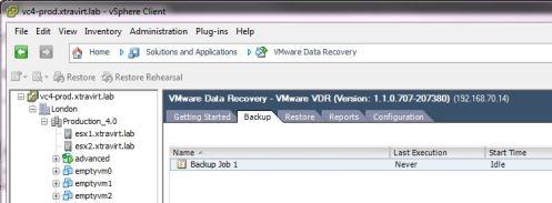 VMware VDR